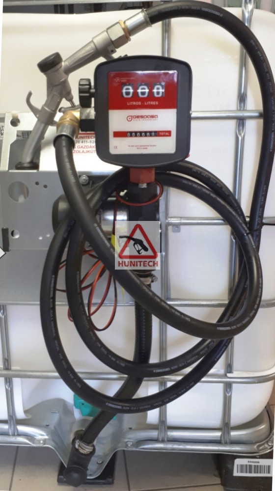 S-50, gázolaj szivattyú, 12V. 1000M kit