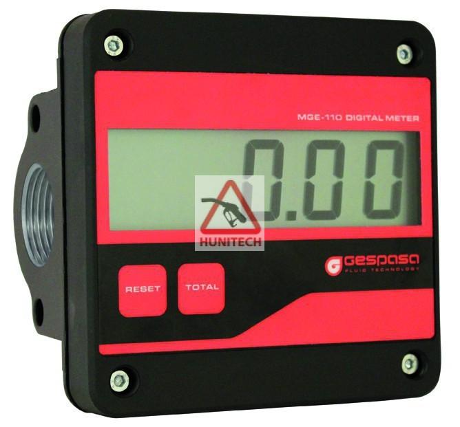 MGE-110 Digitális átfolyásmérő gázolajszivattyúhoz (Kenőolajhoz is )
