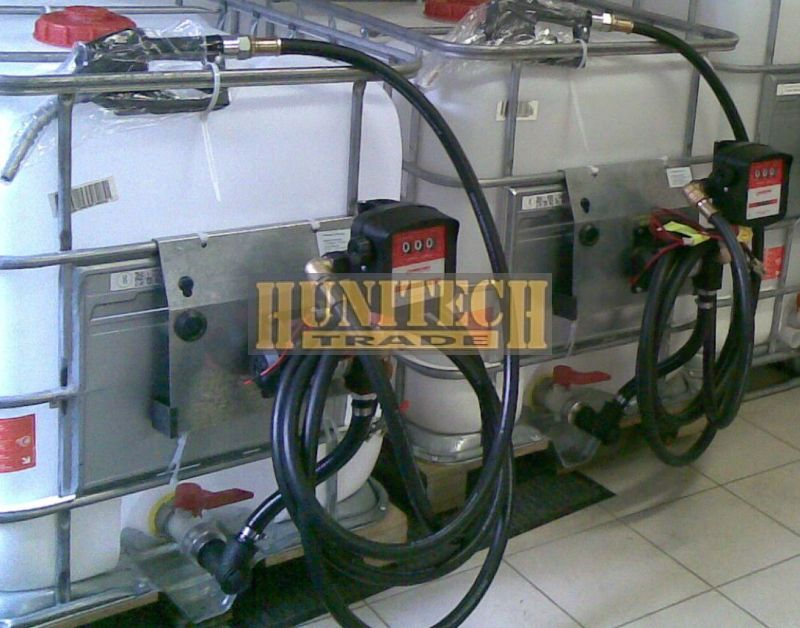 Használt, IBC tartály,  ADR-rel 640 literes + S-50 12V. 1000M kit