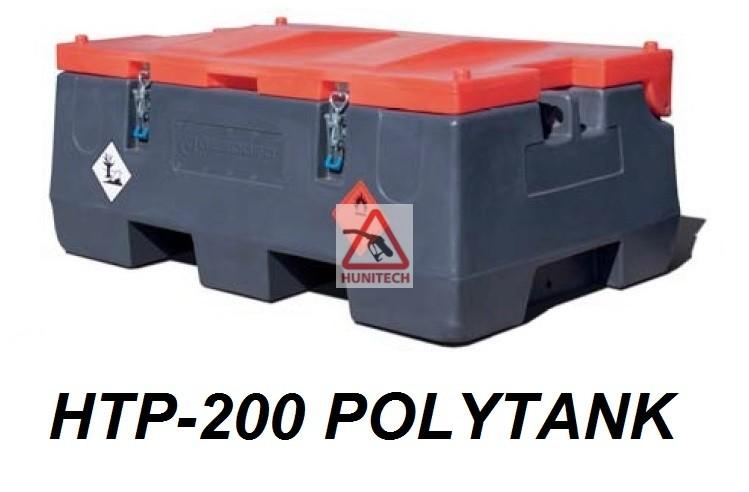 HTP-200 POLYTANK-PROFI , 12V, szállítható gázolajtartály