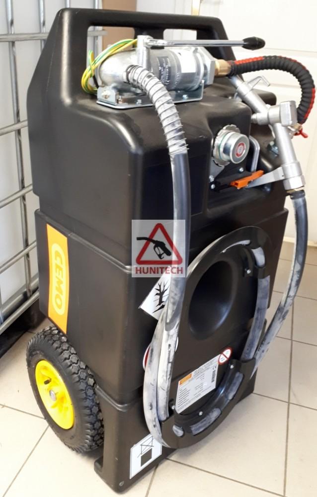 HTEX-100M szállítható benzintartály kocsi