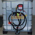 Új IBC tartály 1000 literes + S-50 12V. 1000M kit