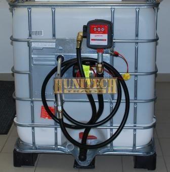 Új IBC tartály 1000 literes + S-50 24V. 1000M kit