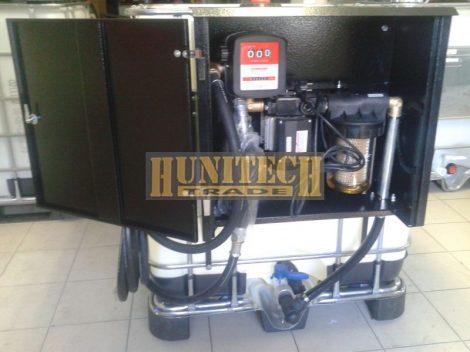 Új IBC tartály 1000 literes + Kit Equipe 230VAC
