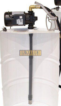 AG-100V. gázolajszivattyú, 230V. 75-85 l/perc, PA-80 automata kimérőpisztoly