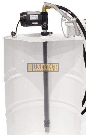 IRON-50V. gázolaj szivatyú, szett, 230VAC, 50 l/perc,