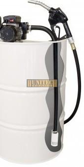 IRON-75H, gázolajszivattyú szett, 230VAC 60-70 l/perc, PA-80 automata kimérőpisztoly