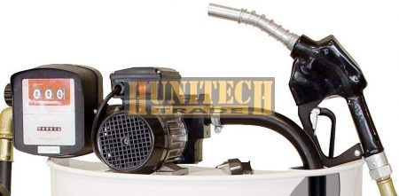 S-75H. gázolaj szivattyú, 230VAC 60-70 l/perc, PA-80 automata kimérőpisztoly