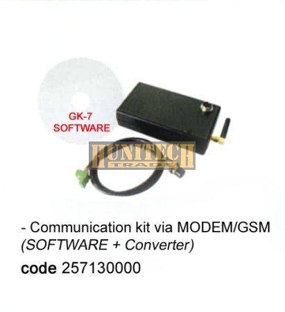 Kommunikációs szoftver MODEM/GSM használattal