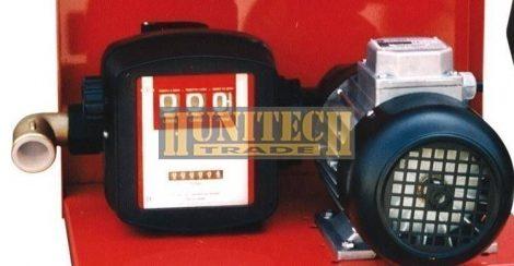 SAG-90 gázolajszivattyú 12VDC 60-70 l/perc mérőórával