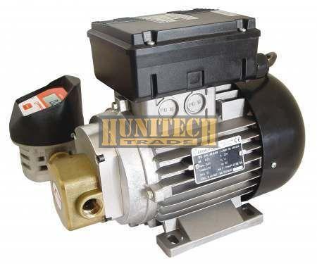 SEA-88 olajszivattyú 0,74kW 230VAC 25 L/perc fogaskerék szivattyú mérőórával