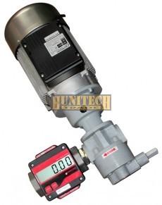 SEA-65 olajszivattyú, 230VAC, fogaskerekes-mérőórával