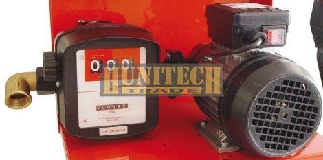 S-75 gázolajszivattyú 230VAC 60-70 l/perc mérőórával