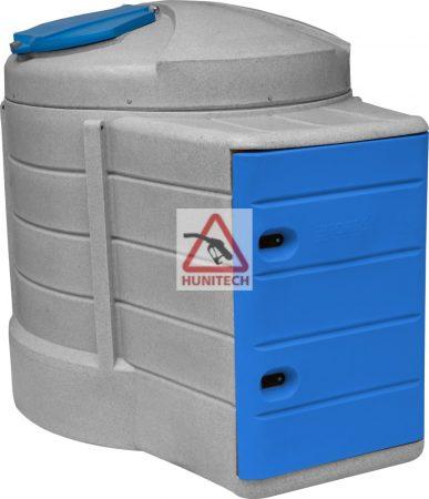 HUNITANK BLUE 2500 literes, WINTER  KOMFORT Adblue tartály, digitális kimérővel