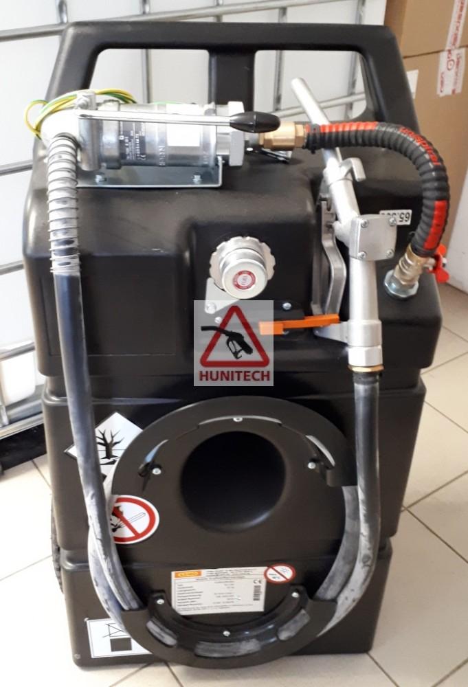 HTEX-100M szállítható benzintartály kocsi - IBC, gázolaj