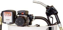 Hordó, 230V. gázolaj szivattyú szettek