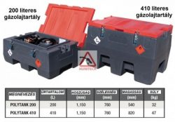 ADR mentes 200l és 410l gázolajtartály, benzintartály