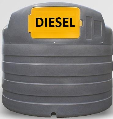 5000 literes gázolajtartály