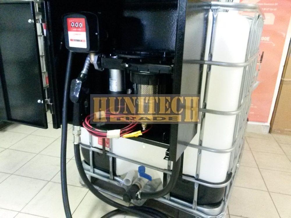 IBC tartály 1000 literes + Kit Equipe 12V.